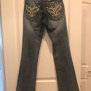Miss Me Boot Cut Jeans Brand New!